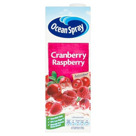 Ocean Spray Cranberry & Raspberry Pm 1.39 1ltr
