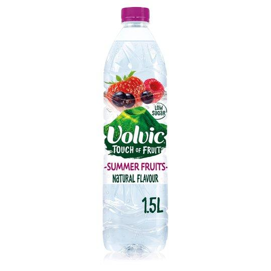 Volvic Touch Of Fruit Summer Fruits 1.5ltr