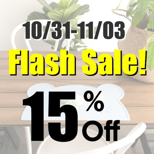 【10/31-11/03】FlashSale!15%off