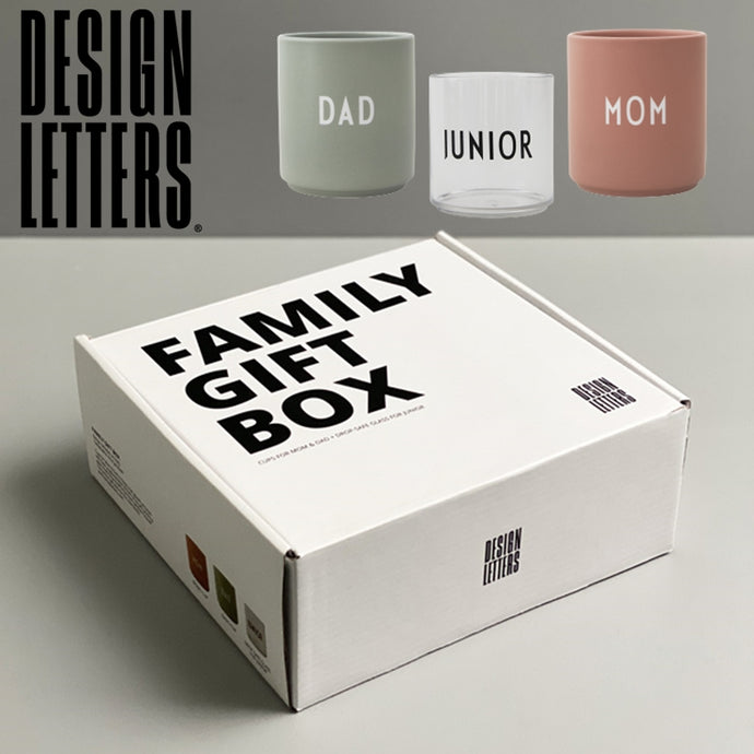 FAMILY GIFT BOX 家族カップ3点セット by DESIGN LETTERS