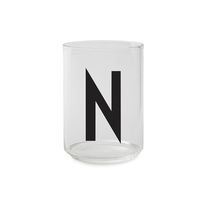 Personal Drinking Glass ドリンキンググラス N-Z by DESIGN LETTERS デザインレターズ