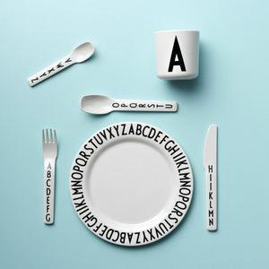 Melamine plate by DESIGN LETTERS デザインレターズ  メラミンプレート
