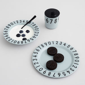 Melamine The Numbers Gift Set メラミンナンバーズギフトセット by DESIGNLETTERS