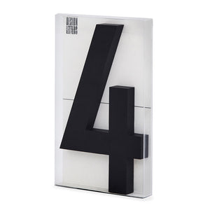 【在庫限りのSALE】【半額】Architect Numbers 10cm(Large)BY DESIGN LETTERS アーキテクトレターズ0-9