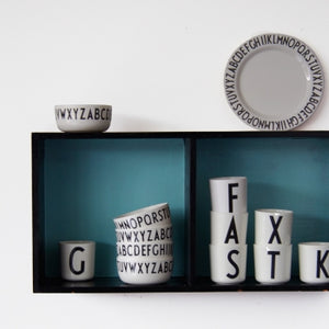 Melamine Cups by DESIGN LETTERS デザインレターズ  メラミンカップ A-M
