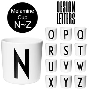 Melamine Cups by DESIGN LETTERS デザインレターズ  メラミンカップ N-Z