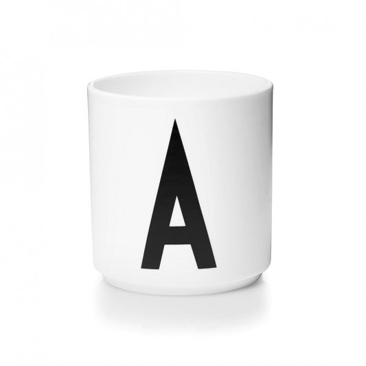 Personal Porcelain Cups by DESIGN LETTERS デザインレターズ  パーソナルポーセリンカップ  A-M