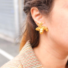 Load image into Gallery viewer, GIGI PARIS bijoux vintage boucles d'oreilles