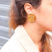 Upload the image to the gallery, GIGI PARIS vintage jewelry Philippe Ferrandis earrings
