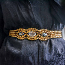 Load the image in the gallery, GIGI PARIS vintage jewelry Azzaro belt