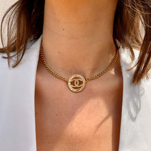 Load the image in the gallery, Chocker upcycled Chanel gold from GIGI PARIS