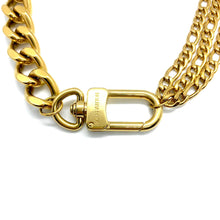 Load the image in the gallery, Louis Vuitton upcycled Chocker from GIGI PARIS