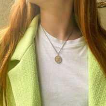 Load image into Gallery viewer, Chanel upcycled necklace 31 Rue Cambon silver by GIGI PARIS