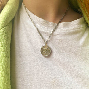 Chanel 31 Rue Cambon silver upcycled necklace from GIGI PARIS