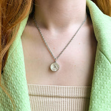 Load the image in the gallery, Upcycled Chanel Paris pearl necklace from GIGI PARIS