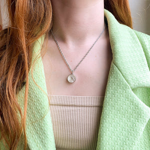 Upcycled Chanel Paris pearl necklace from GIGI PARIS