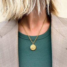 Load image into Gallery viewer, Chanel elephant upcycled necklace from GIGI PARIS