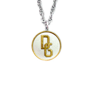 Upcycled necklace Dolce & Gabbana Gold and Silver from GIGI PARIS
