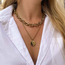 Load the image in the gallery, Upcycled Dolce & Gabbana Gold necklace from GIGI PARIS