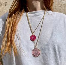Load the image in the gallery, Louis Vuitton Bonbon upcycled long necklace from GIGI PARIS