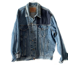 Upload image to gallery, 🩸 Levi's x Coco blue shoulder upcycled jacket