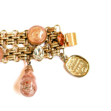 Load the image in the gallery, Chanel bracelet with copper tassels