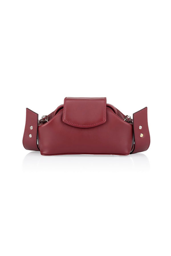 baby chic burgundy bag - bags - Grie