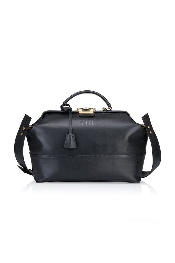midi black bag - bags - Grie