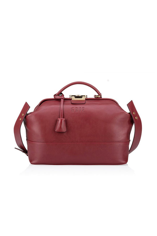 midi burgundy bag - bags - Grie