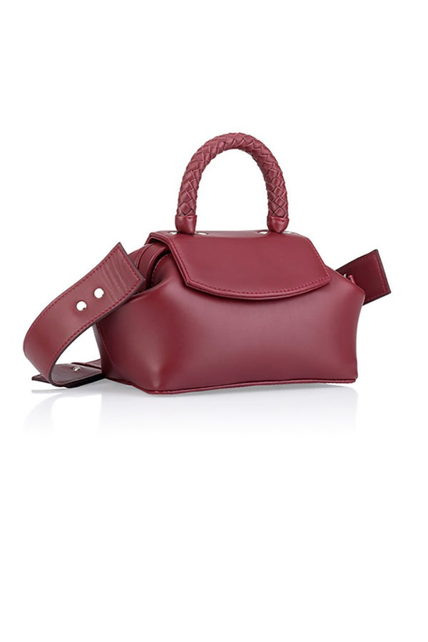 mimi burgundy bag - bags - Grie