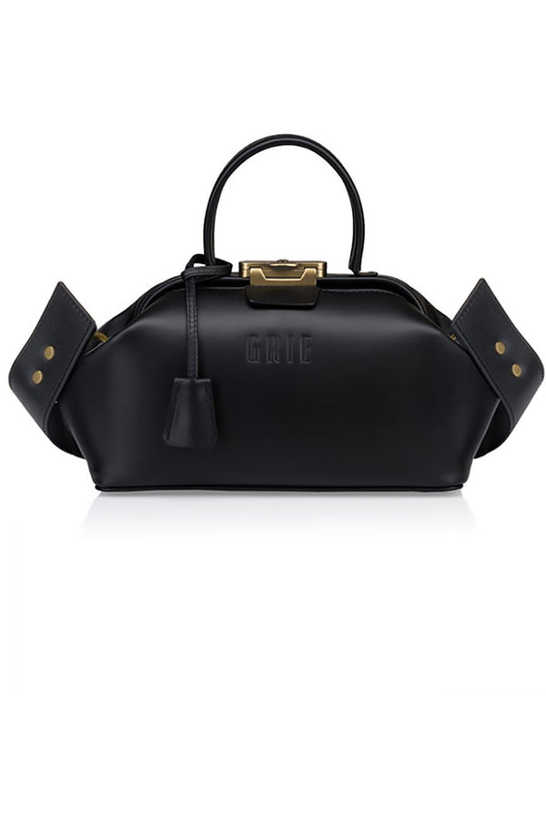 noble plain black bag - bags - Grie