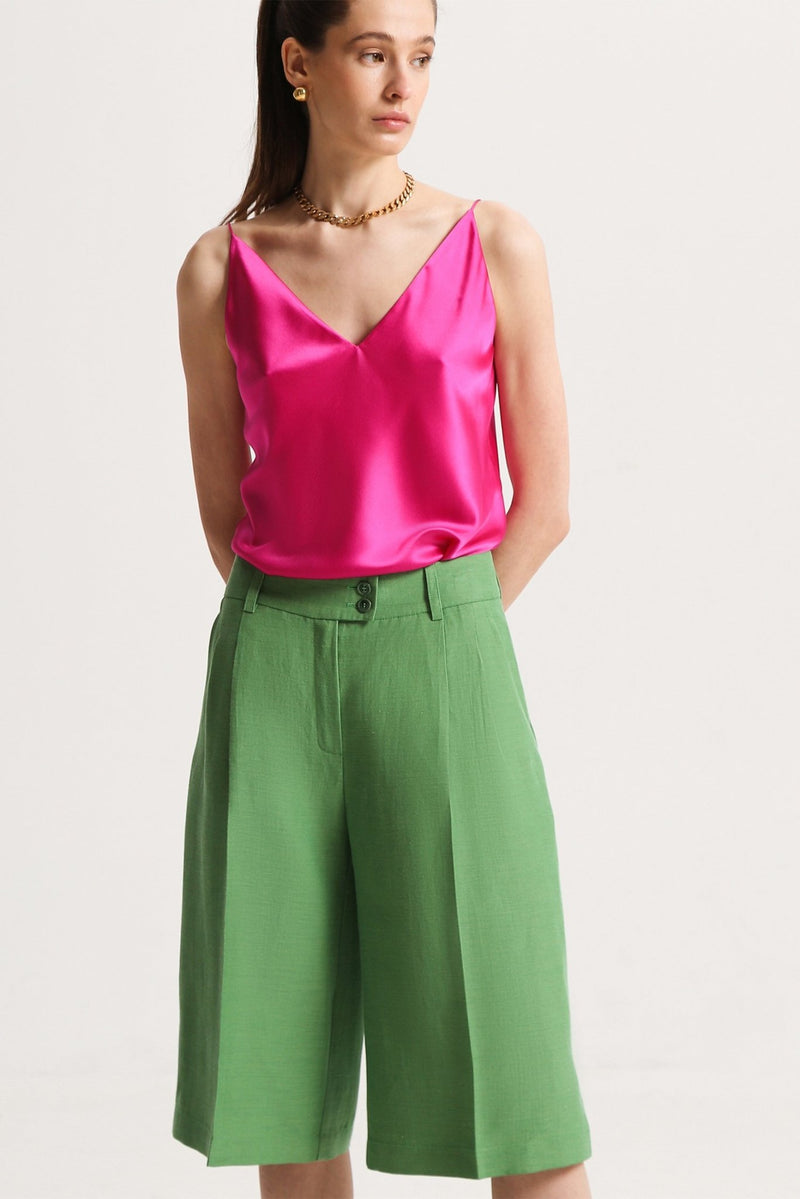 Slip silk top - tops - SHAKO