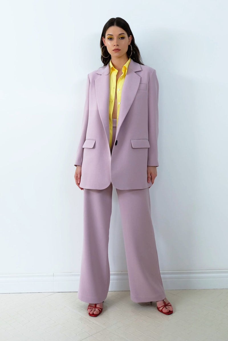 Straight cut blazer - jackets - irAro