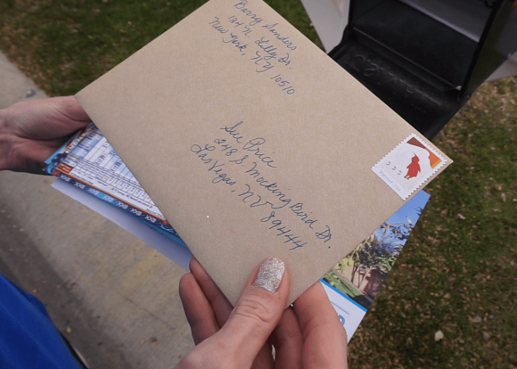 Send handwritten Thank You cards in the mail automatically