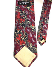 Load image into Gallery viewer, Vintage Tana Lawn Cotton Tie by Liberty of London in Stylised William Morris Design-Accessories, For Him-Brand Spanking Vintage
