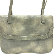 Load image into Gallery viewer, Delightful Vintage 60s Freedex Patent Leather Mottled Taupe/Stone/Grey Twin Handled Kelly Bag-Vintage Handbag, Kelly Bag-Brand Spanking Vintage