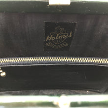 Load image into Gallery viewer, Vintage 60s Large Forest Green Patent Leather Kelly Bag by Holmes of Norwich-Vintage Handbag, Kelly Bag-Brand Spanking Vintage