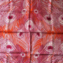 Load image into Gallery viewer, Liberty Of London Silk Scarf In Updated 'Hera' Design In Vibrant Pinks And Orange-Scarves-Brand Spanking Vintage