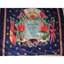 Load image into Gallery viewer, Vintage Liberty Of London Silk Scarf To Commemorate H.M.The Queen's Silver Jubilee 1952 - 1977-Scarves-Brand Spanking Vintage