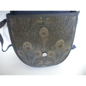 Vintage Liberty Of London Special Limited Edition, 'The Hera Collection', Leather Shoulder Bag. New And Unused-Vintage Handbag, Dolly Bag-Brand Spanking Vintage