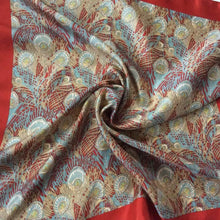 Load image into Gallery viewer, Vintage Small Liberty Of London Silk Scarf In Iconic 'Hera' Design-Scarves-Brand Spanking Vintage