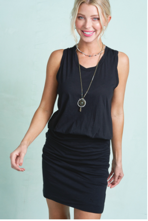 SALE! Casual Light Weight Dress Black