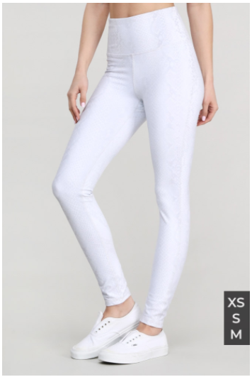 SALE! Pale Snake Highwaist Leggings XS-