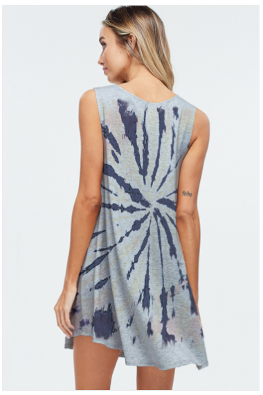 Sale! Tie dye mini dress