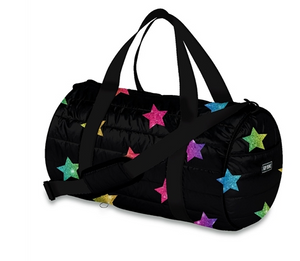 Multi Star Puffer Duffel Bag