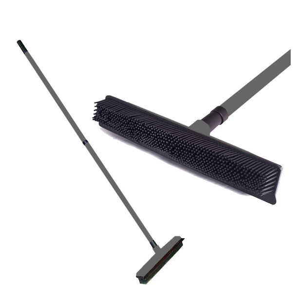 TELESCOPE BROOM W/ SQUEEGEE