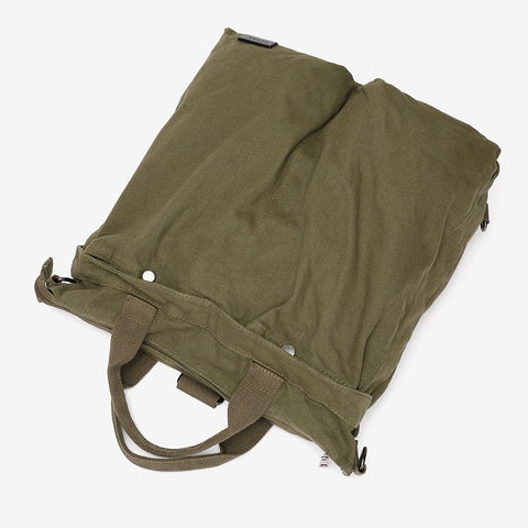 Unisex 3-way carry canvas bag