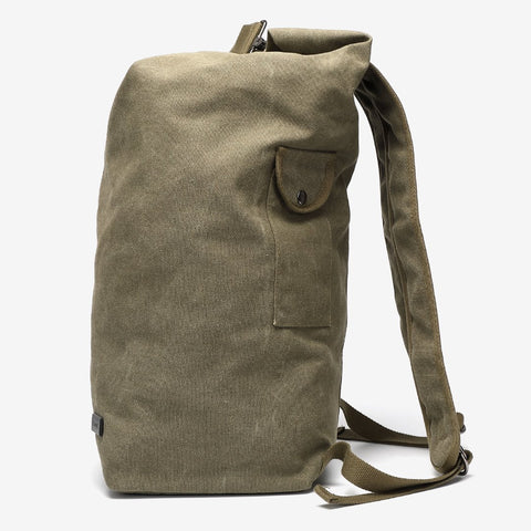 Large unisex canvas backpack