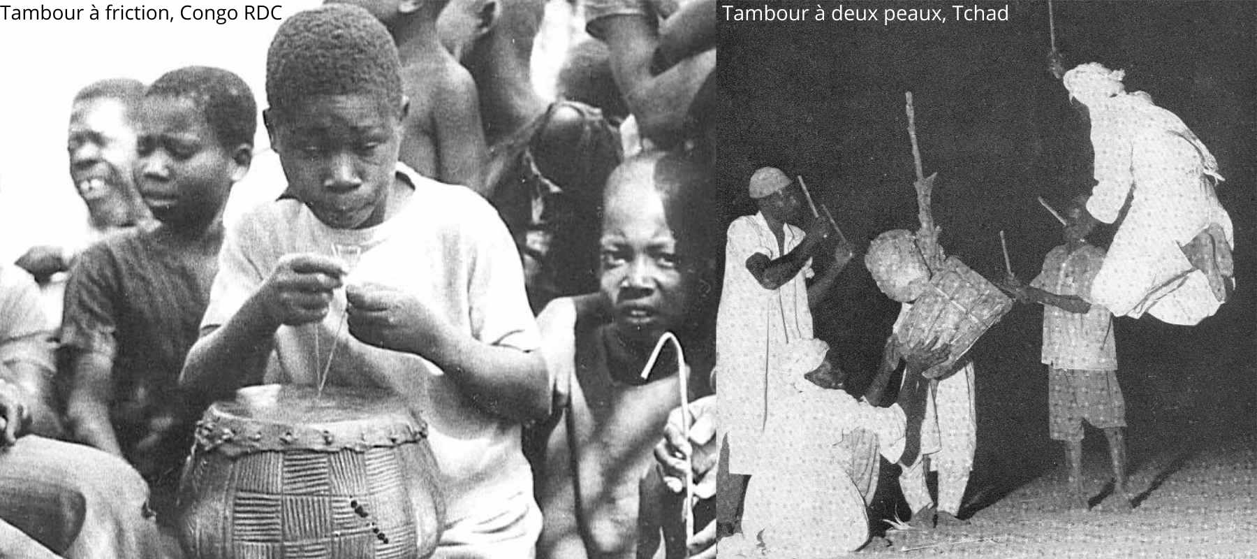 le tambour africain