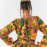 robe kenté africaine